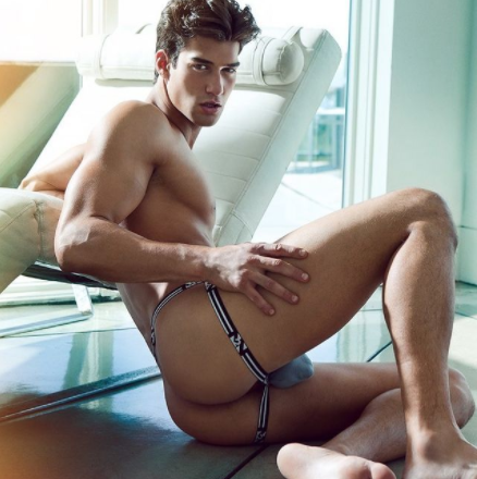 Men's designer jockstrap underwear