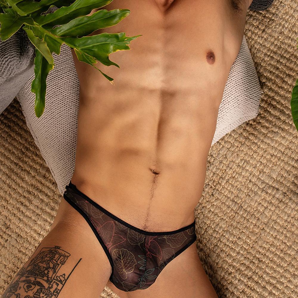 Mens lace thong